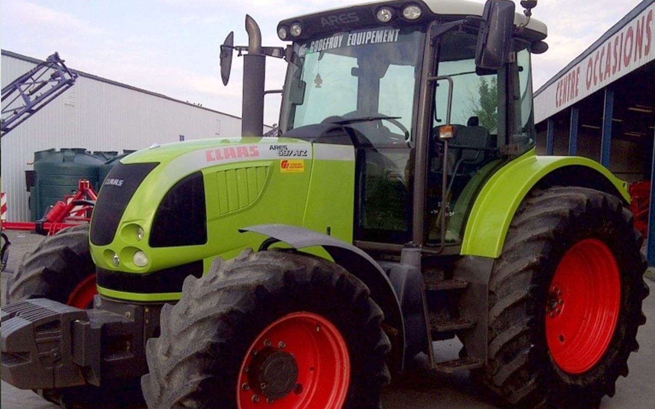 Claas - Claas Ares 697 RZ